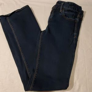 Express Low Rise Boot Cut Jeans Womens 6 Long